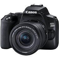 Canon EOS 250D, fekete + 18-55mm IS STM - Digitális fényképezőgép