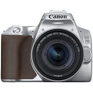 Canon EOS 250D, ezüst + 18-55mm IS STM - Digitális fényképezőgép