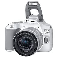 Canon EOS 250D, fehér + 18-55mm IS STM - Digitális fényképezőgép