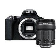 Canon EOS 250D, fekete + 18-135mm IS STM - Digitális fényképezőgép