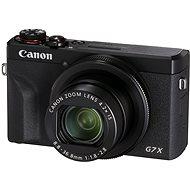 Canon PowerShot G7 X Mark III, fekete - Digitális fényképezőgép