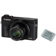 Canon PowerShot G7 X Mark III Battery Kit, fekete - Digitális fényképezőgép