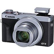 Canon PowerShot G7 X Mark III, ezüst - Digitális fényképezőgép