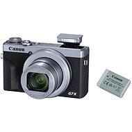 Canon PowerShot G7 X Mark III Battery Kit, ezüst - Digitális fényképezőgép