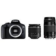 Canon EOS 2000D + 18-55mm DC III + 75-300mm DC III - Digitális fényképezőgép