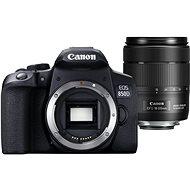 Canon EOS 850D fekete + 18-135mm IS USM - Digitális fényképezőgép
