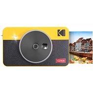 Kodak MINISHOT COMBO 2 Retro sárga - Instant fényképezőgép