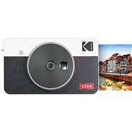 Kodak MINISHOT COMBO 2 Retro Fehér - Instant fényképezőgép
