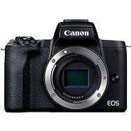 Canon EOS M50 Mark II váz - fekete - Digitális fényképezőgép