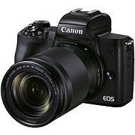Canon EOS M50 Mark II fekete + EF-M 18-150 mm IS STM - Digitális fényképezőgép