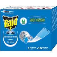 Raid elektromos szúnyogriasztó 1 + 10 db - Rovarriasztó