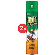 BIOLIT UNI 007 Spray repülő és mászó rovarok ellen 2×300 ml - Rovarriasztó