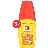 OFF! Multi rovarirtó spray 3×100 ml - Rovarriasztó