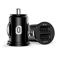Odzu Car Charger Mini Black - Autós töltő