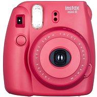 Fujifilm Instax Mini Polaroid fényképezőgép 8S málna Medium Kit - Digitális fényképezőgép