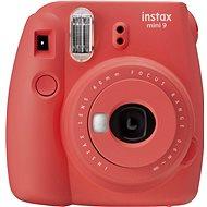 Fujifilm Instax Mini 9, piros + 20x fotópapír + tok + keret - Instant fényképezőgép