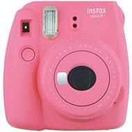 Fujifilm Instax Mini 9 rózsaszín + film 1x10 - Instant fényképezőgép