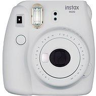 Fujifilm Instax Mini 9 hamufehér + film 1x10 + tok - Instant fényképezőgép