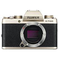 Fujifilm X-T100 test arany - Digitális fényképezőgép