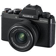 Fujifilm X-T100 fekete + XC 15-45mm f/3.5-5.6 OIS PZ - Digitális fényképezőgép