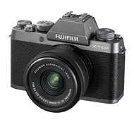 Fujifilm X-T100 ezüst + XC 15-45mm f/3.5-5.6 OIS PZ - Digitális fényképezőgép