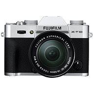 Fujifilm X-T10 Silver + XC16-50mm objektív - Digitális fényképezőgép