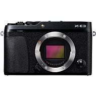 Fujifilm X-E3 digitális fényképezőgép – fekete - Digitális fényképezőgép