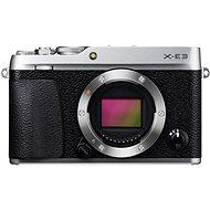 Fujifilm X-E3 digitális fényképezőgép - ezüst - Digitális fényképezőgép