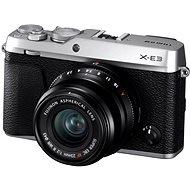 Fujifilm X-E3 ezüst + XF 23 mm - Digitális fényképezőgép