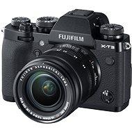 Fujifilm X-T3 fekete + XF 18-55 mm R LM OIS - Digitális fényképezőgép