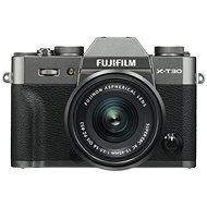 Fujifilm X-T30, szürke + XC 15-45mm - Digitális fényképezőgép