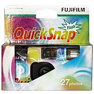 Fujifilm QuickSnap szivárvány 400/27 - Egyszer használatos fényképezőgép
