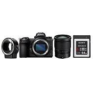 Nikon Z6 + 24-70mm + FTZ adapter + 64GB XQD kártya - Digitális fényképezőgép
