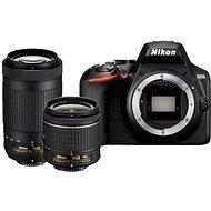 Nikon D3500 fekete + 18-55 mm VR + 70-300 mm VR - Digitális fényképezőgép