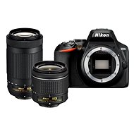 Nikon D3500 fekete + 18-55 mm + 70-300 mm - Digitális fényképezőgép