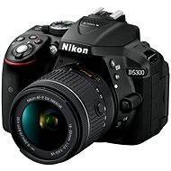 Nikon D5300 + 18-55 AF-P VR objektív - Digitális tükörreflexes fényképezőgép