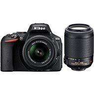 Nikon D5500 + 18-55mm Lens AF-S DX VR II + 55-200 mm AF-S DX VR II - DSLR Camera