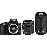 Nikon D5600 + AF-P 18-55mm VR + 70-300mm VR - Digitális tükörreflexes fényképezőgép