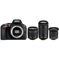 Nikon D5600 + AF-P 18-55mm VR + 70-300mm VR + 10-20mm VR - Digitális fényképezőgép