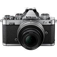 Nikon Z fc + 16-50 VR ezüst - Digitális fényképezőgép