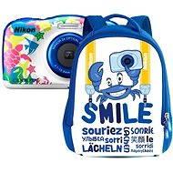 Nikon COOLPIX W100 sötétkék hátizsák szett - Fényképezőgép gyerekeknek