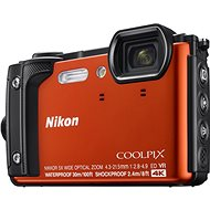 Nikon COOLPIX W300 Narancssárga - Digitális fényképezőgép