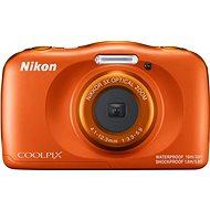 Nikon COOLPIX W150 narancssárga backpack kit - Fényképezőgép gyerekeknek