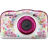 Nikon COOLPIX W150 virágos backpack kit - Fényképezőgép gyerekeknek