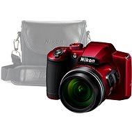 Nikon COOLPIX B600, piros + tok - Digitális fényképezőgép