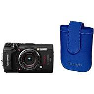 Olympus TOUGH TG-5 fekete + Tough neoprén tok - Digitális fényképezőgép