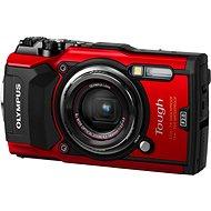 Olympus TOUGH TG-5 piros + Power Kit - Digitális fényképezőgép