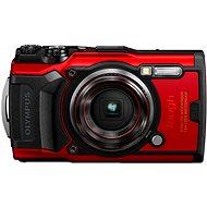 Olympus TOUGH TG-6, piros - Digitális fényképezőgép