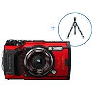 Olympus TOUGH TG-6 + POWER KIT piros - Digitális fényképezőgép