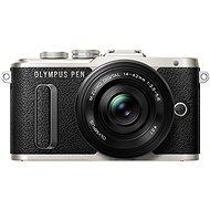 Olympus PEN E-PL8 fekete + Pancake objektiv ED 14-42EZ fekete - Digitális fényképezőgép